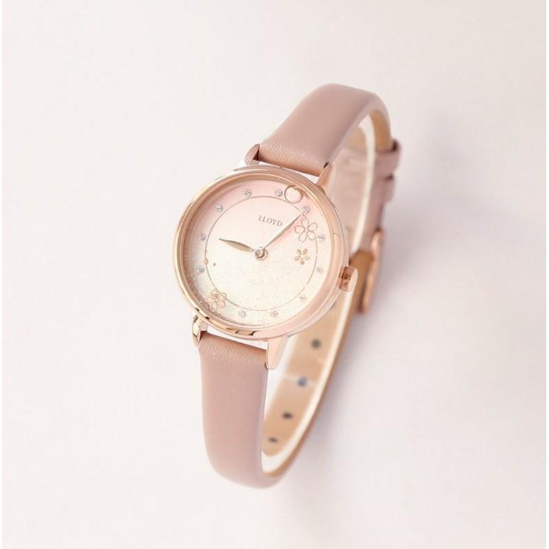 【萌貓🇰🇷代購】韓國珠寶品牌 LLOYD 💐櫻花綻放 春天 女用手錶 手錶