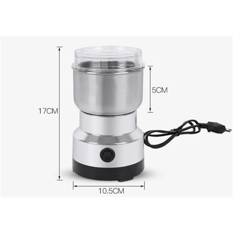 磨粉機   磨豆機 十字刀 電動磨粉機 家用不鏽鋼磨粉機 咖啡豆 咖啡研磨機 五穀 粉碎機 中藥材磨粉機  110v電壓