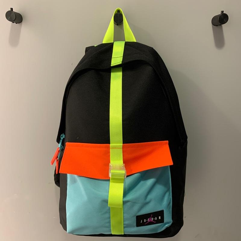 NIKE JORDAN 基本款 雙肩 後背包 彩色  9A0402-026