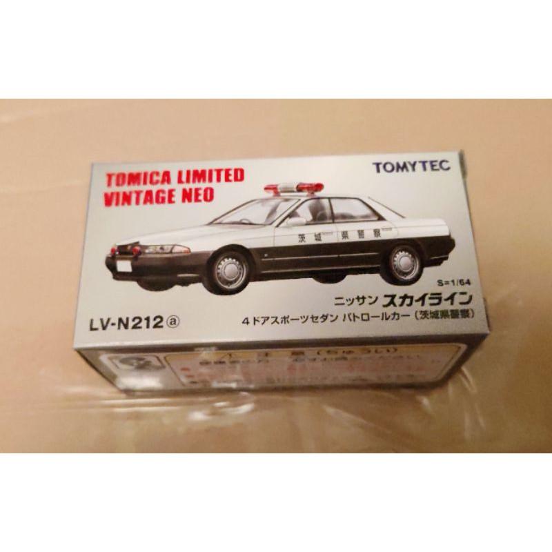 Tomytec LV-N212a Nissan Skyline police car 茨城縣警車