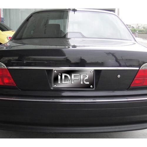 BMW 7 E38 1995~2002 728 730 735 740 750 改裝 鍍鉻銀 尾門後行李箱飾條