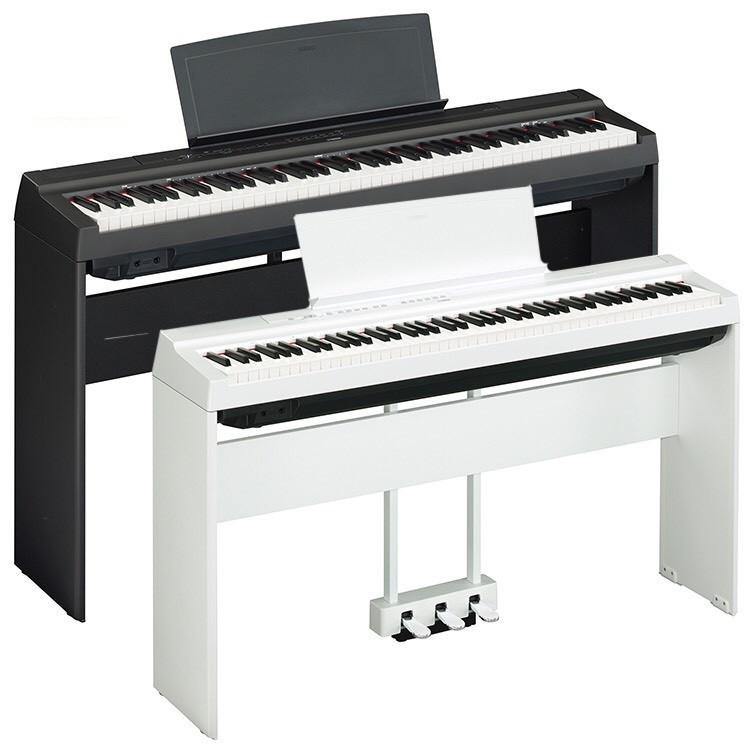 YAMAHA P125 電鋼琴 黑白兩色 套組/單主機 可選配