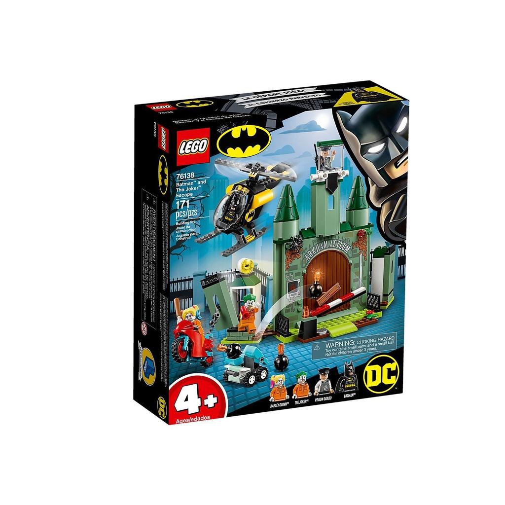 LEGO 樂高 DC Super Heroes Batman and The Joker Escape 76138