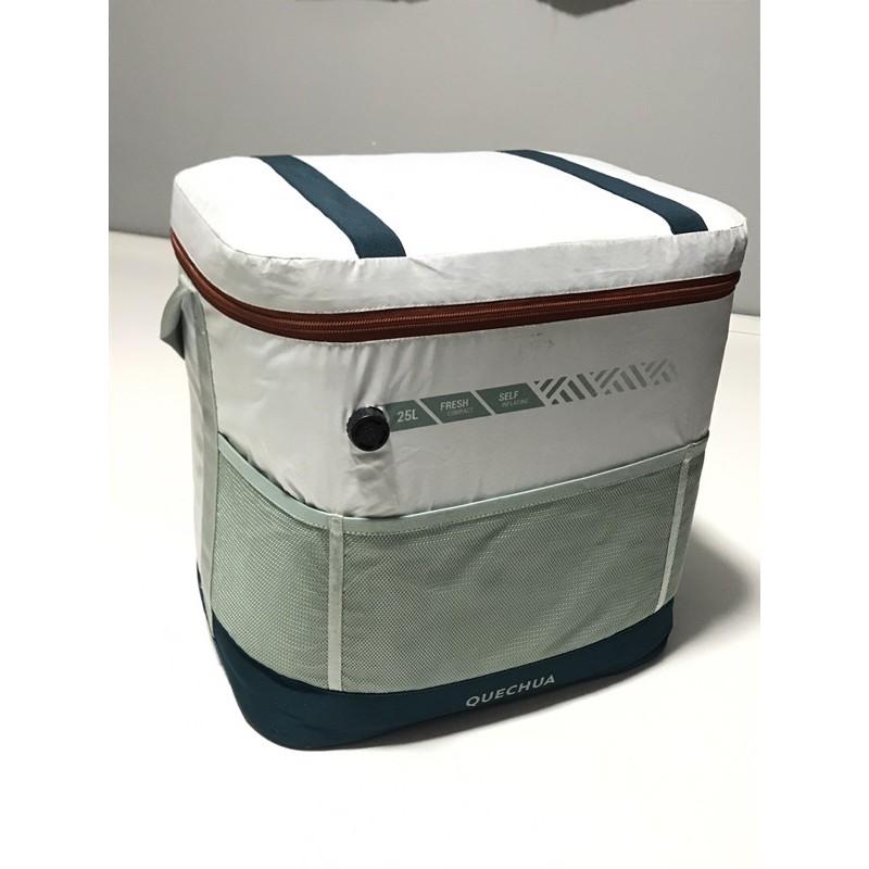 【租】露營 迪卡儂QUECHUA 25L創新自動充氣保冷箱 保冷箱