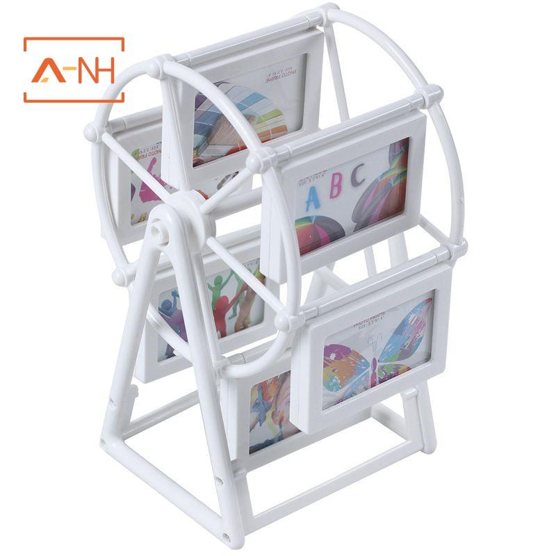 [現貨]相框歐洲風車框架2英寸摩天輪組合12張照片