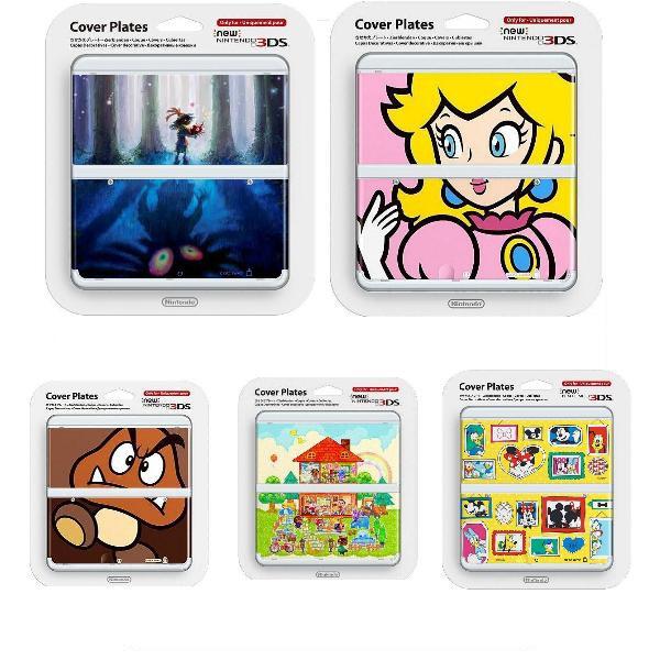 NEW 3DS專用周邊 任天堂原廠 主機 上下外殼 替換面板 NO.056 薩爾達穆修拉的面具【魔力電玩】