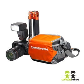《2魔攝影.國旅特約》Caseman 卡斯曼 AW01-S 腰繫/側背兩用相機包
