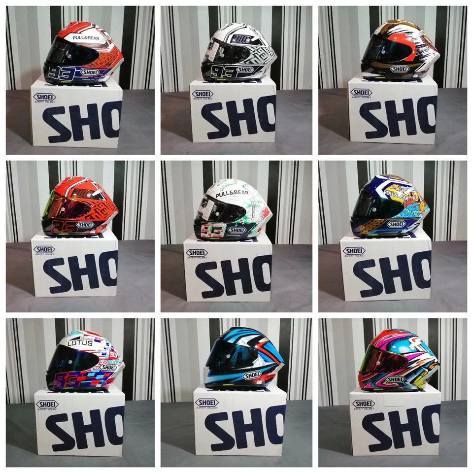 【新品爆款】SHOEI X14 z7系列93號紅螞蟻電源鍵招財貓全覆式頭盔摩托機車全盔