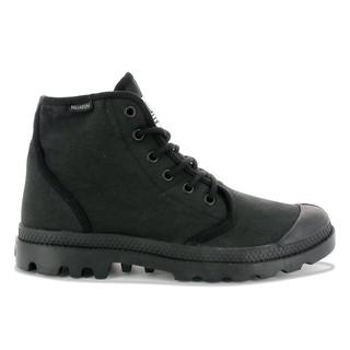 CodEX= PALLADIUM PAMPA HI ORIGINALE TC 帆布軍靴(全黑)75554-060原創男女