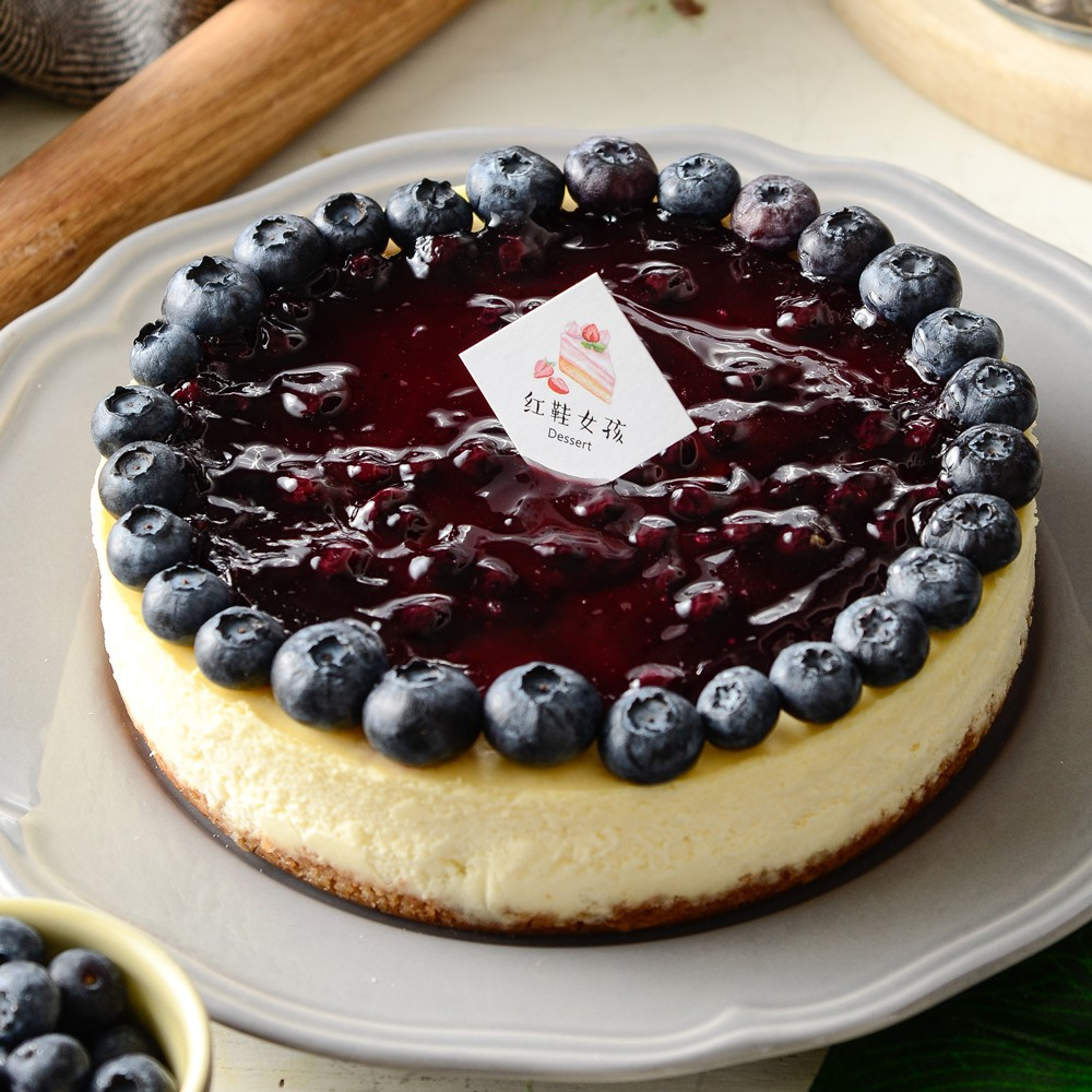 【紅鞋女孩】藍莓重乳酪蛋糕|6吋