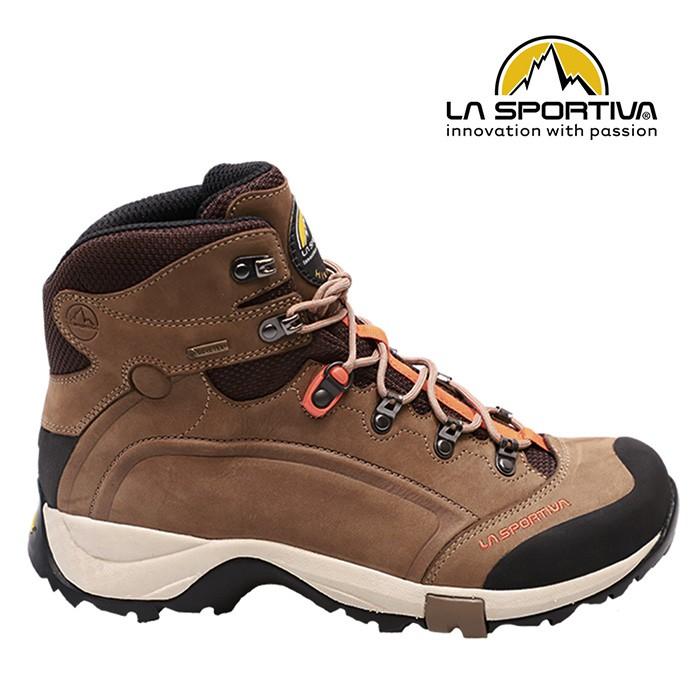【La sportiva 義大利】Typhoon Nubuck Gore-Tex 高筒登山鞋 棕/黑(LA-577BO)