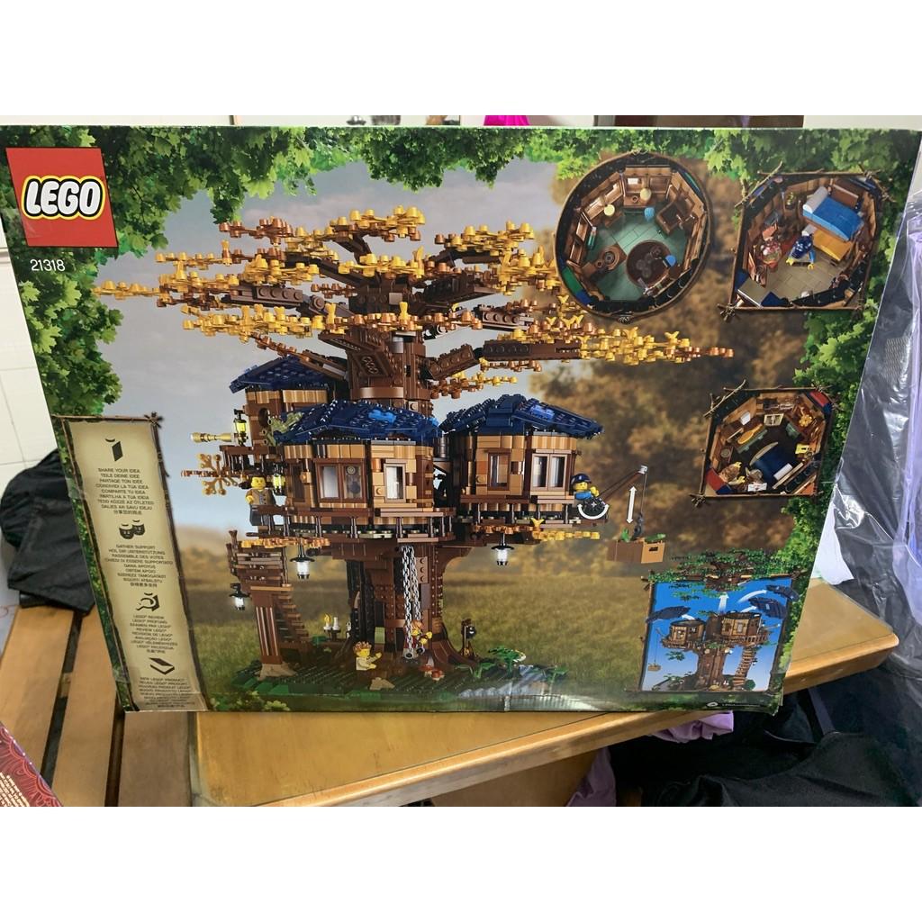 現貨 盒損 面交價 樂高 LEGO 21318 Idea 樹屋 TREE house 積木