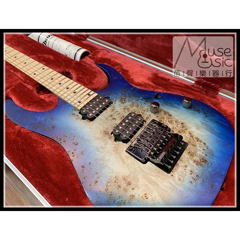【苗聲樂器Ibanez旗艦店】Ibanez RG652MPB-GFB 限量款藍色大搖座電吉他