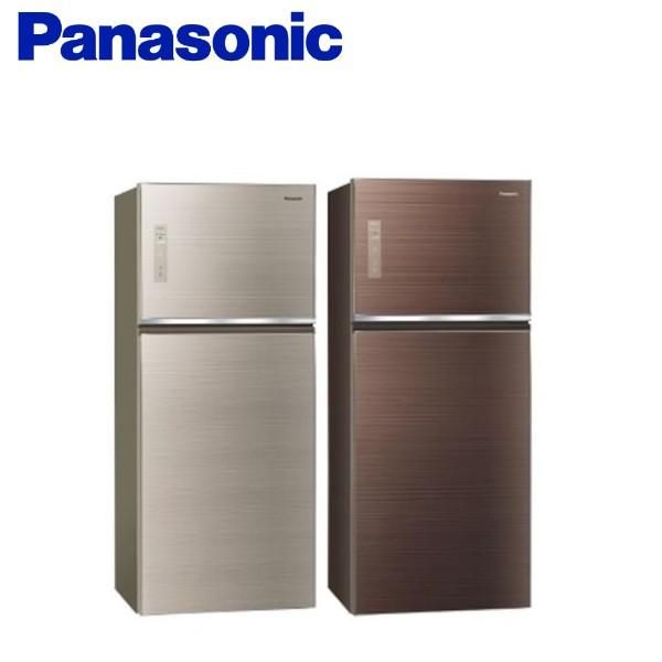 Panasonic 國際牌 (可議價)422公升變頻雙門電冰箱(玻璃面無邊框) )NR-B429TG