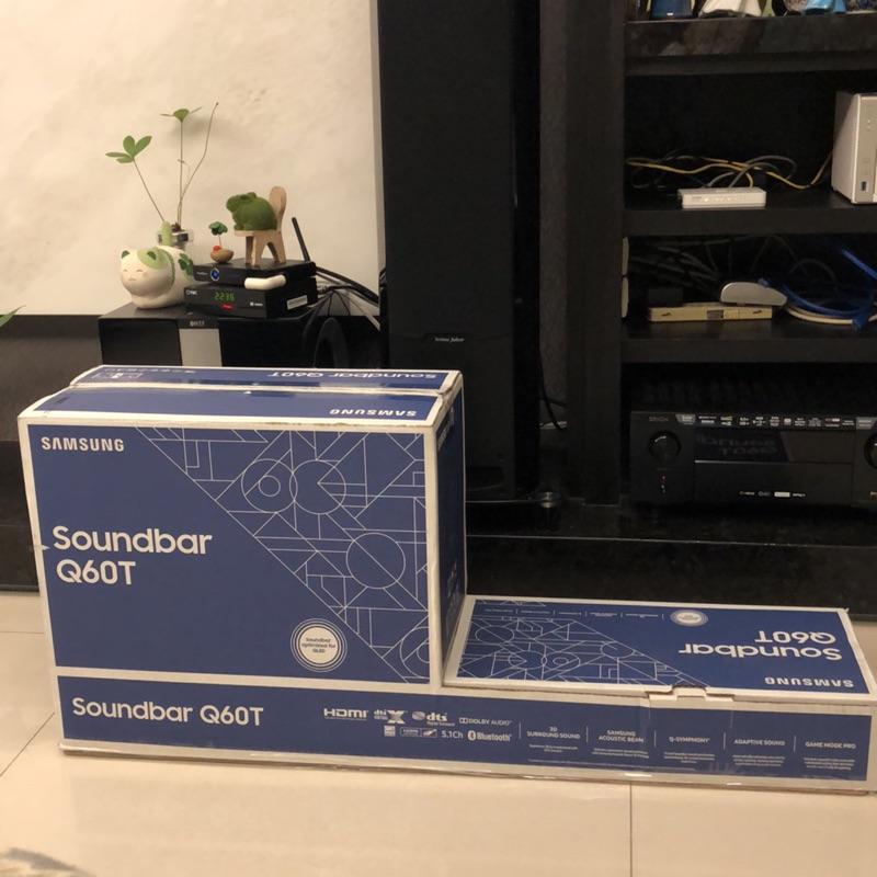Samsung soundbar Q60T三星5.1聲道藍芽聲霸