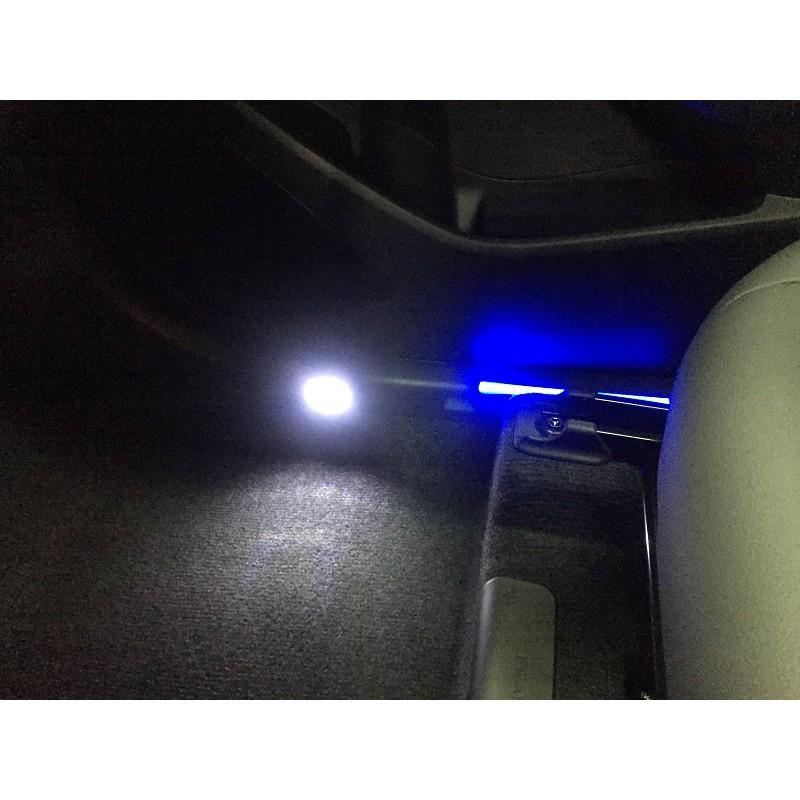 (柚子車舖) 豐田 2020-2021 COROLLA CROSS LED 內門檻踏板 -可到府安裝 車美仕正廠套件