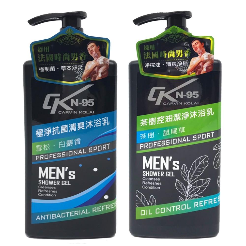CKN-95 男士沐浴乳 men's 750ml 【美日多多】茶樹控油潔淨/極淨抗菌清爽