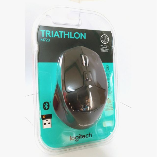 羅技 M720 無線滑鼠 Triathlon 多功能  Logitech Unifying 接收器 藍芽滑鼠 智能滑鼠