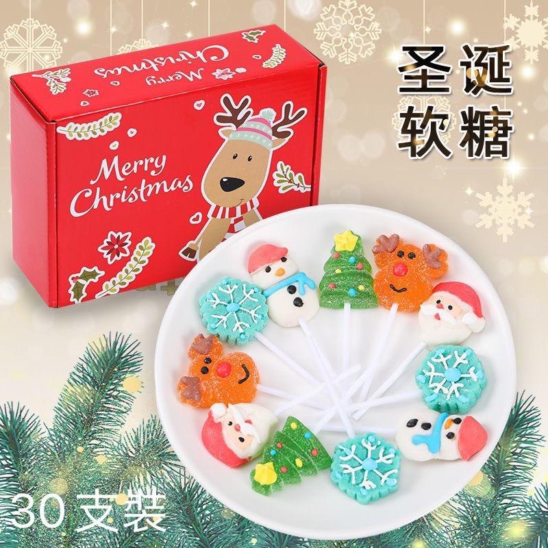 聖誕節🎄雪人糖 軟糖 棒棒糖 禮盒