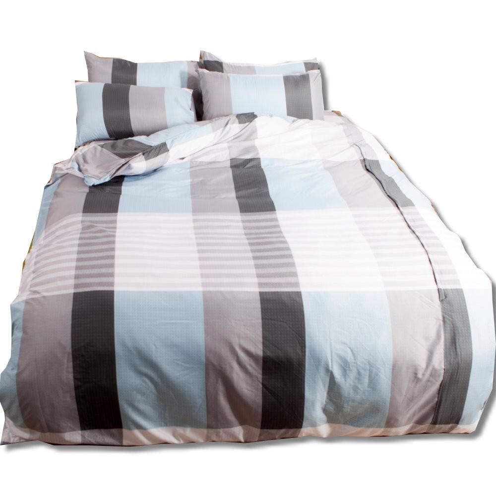 【LUST】 100%超細纖維 新生活eazy系列-床包/枕套組(各尺寸)、台灣製