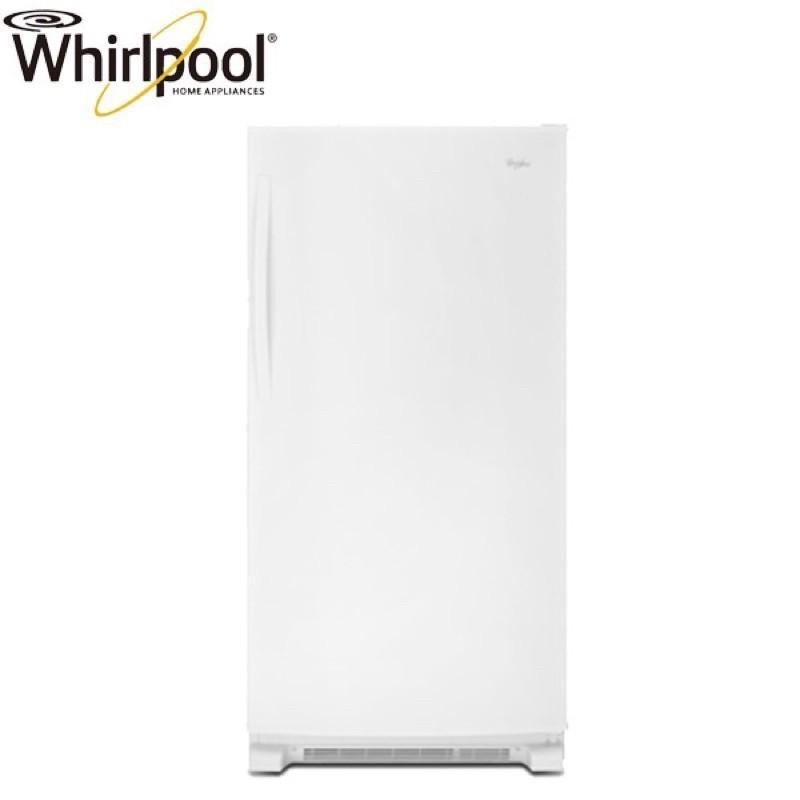 惠而浦【WZF79R20DW】560L 美製 典雅白 直立式冷凍櫃 二手良品低價拋售