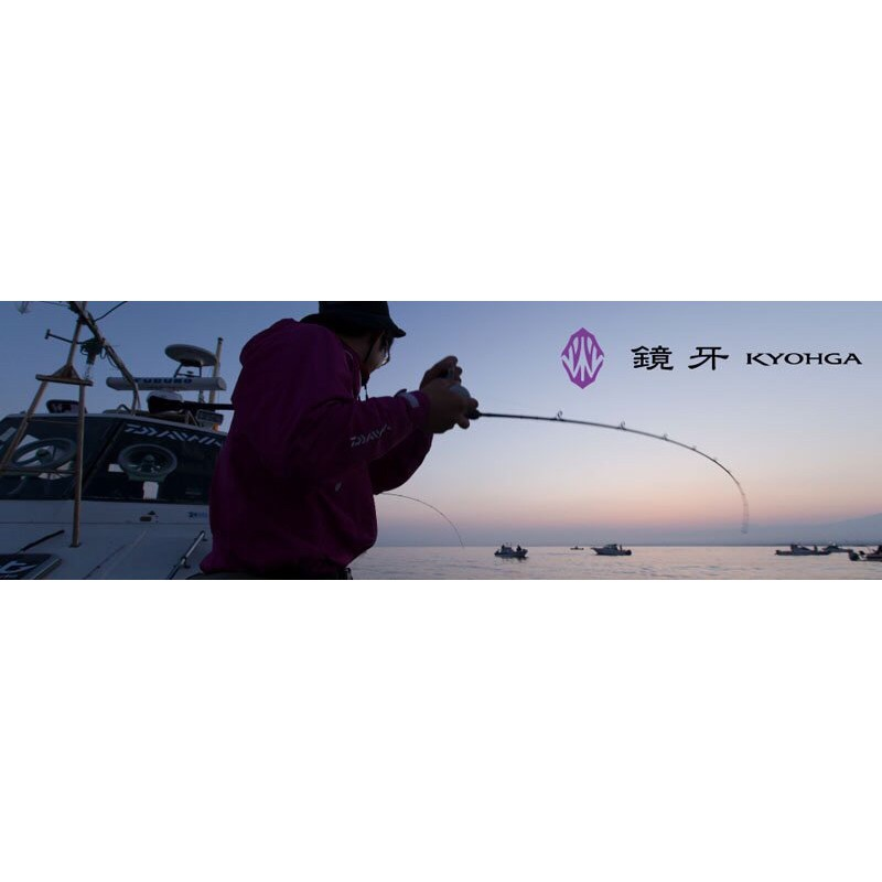 ◎百有釣具◎DAIWA 鏡牙 KYOHGA  AIR 68B-2  60-180g 船釣並繼路亞竿 /鐵板竿