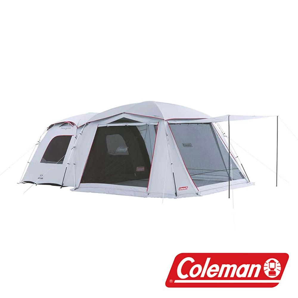 【美國Coleman】TOUGH SCREEN 2-ROOM/LDX + CM-36438 露營 戶外