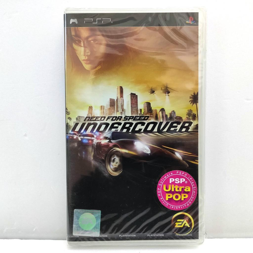 SONY PlayStation PSP 極速快感 臥底風雲 英文亞版 全新珍藏如圖