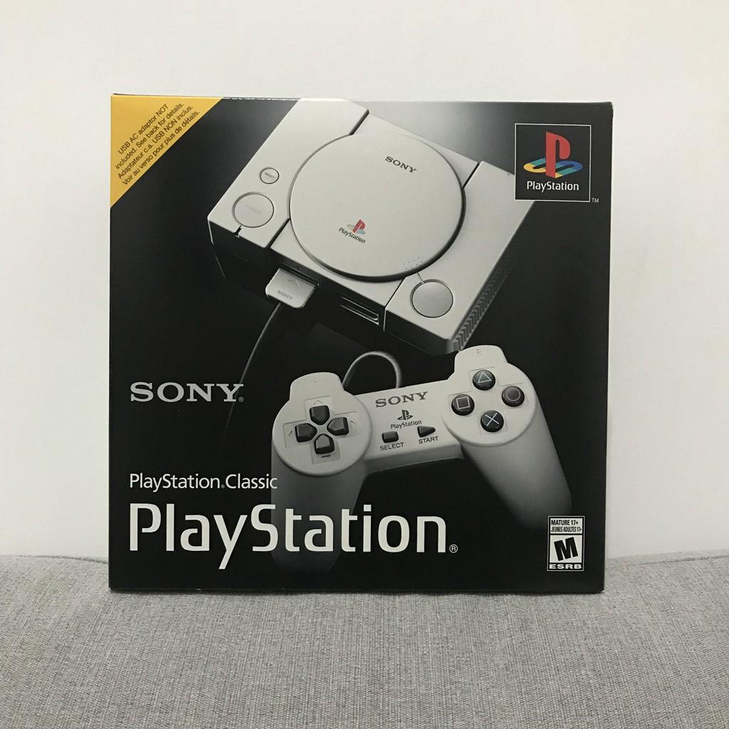 [10-8]索尼 sony ps1 mini PlayStation Classic 迷你游戲主機 現貨