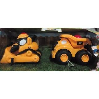 CAT 玩具車 可愛造型車 推土機 /  垃圾車 單台 雲林縣