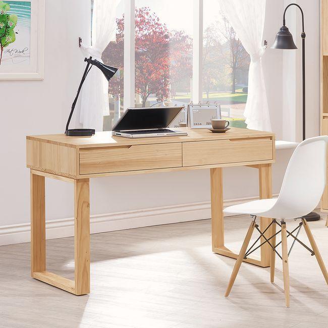 【HB495-01】羅本北歐全實木4尺書桌