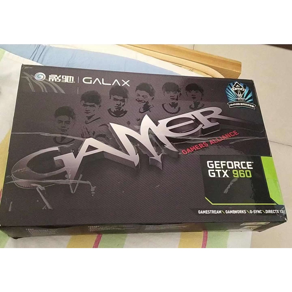 Nvidia 圖形卡 - Galaxy game gtx960 2G 三風扇只能啟動和停止圖形卡