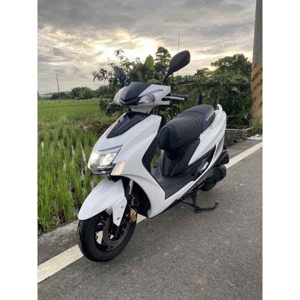 2019年 yamaha 勁戰 五代目 125cc LED頭燈 雙碟ABS版 高雄 岡山 二手 中古機車 可協辦低利分期