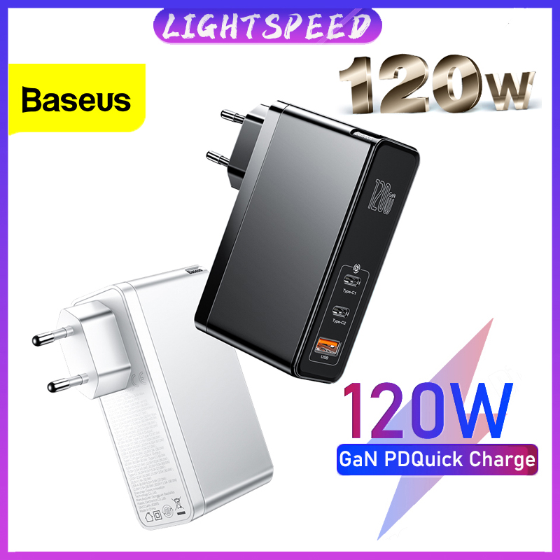 適用於 Macbook Pro Ipad Iphone 三星小米的 Baseus 120w Gan Sic Usb C