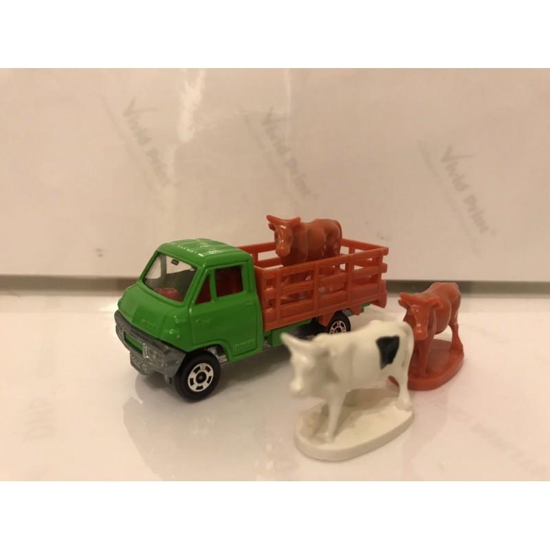 Tomica 日本製 黑盒 牛車