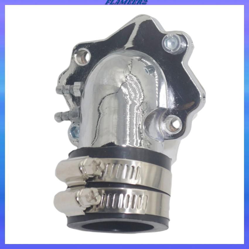 [FLAMEER2] 帶簧片閥的進氣歧管,用於Yamaha輕動50cc輕便摩托車