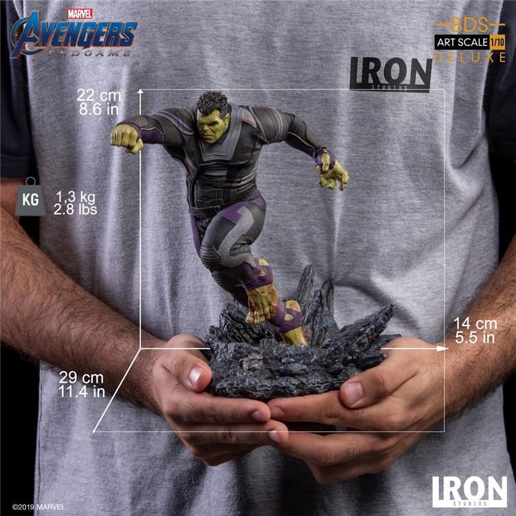 ??CinDy??Iron Studios 1/10  MARCAS18819-10復聯4 Hulk綠巨人浩克 預售