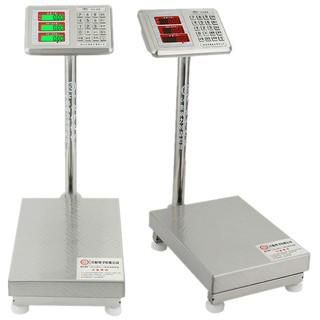 不銹鋼電子台秤100kg電子秤台稱150公斤電子稱200計價稱300KG磅秤*dt5hndsq3u* 雲林縣