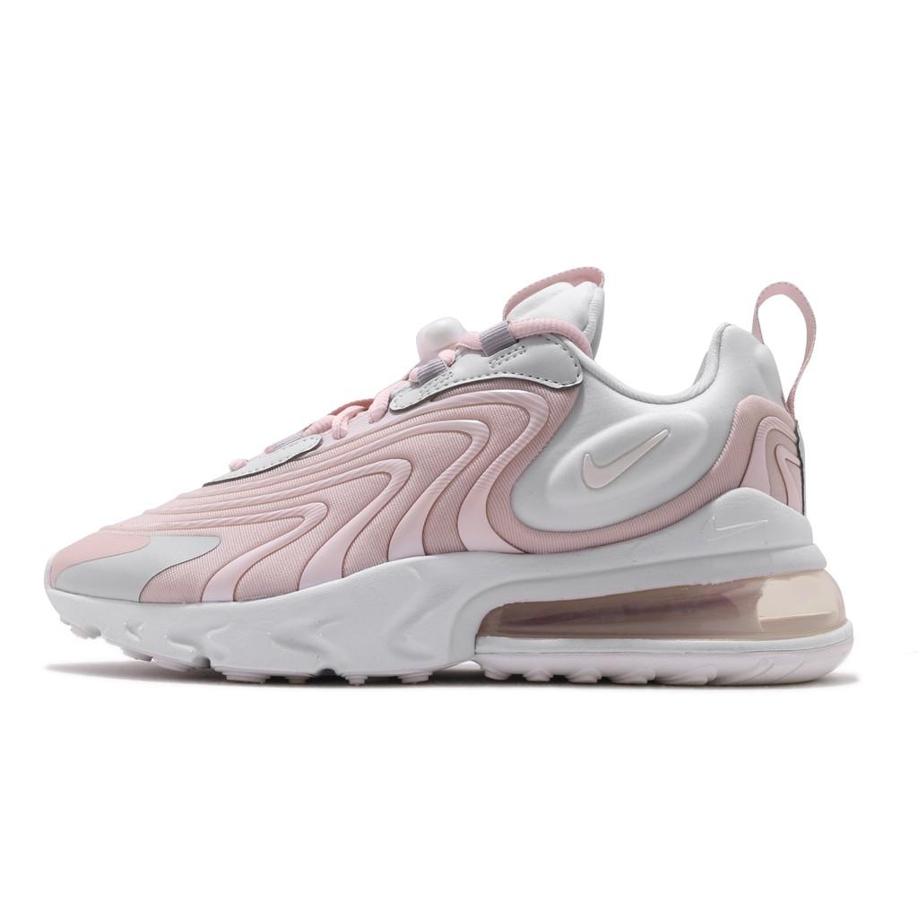 Nike 慢跑鞋 Wmns Air Max 270 React ENG 粉紅 白 女鞋 CK2595-001 【ACS】