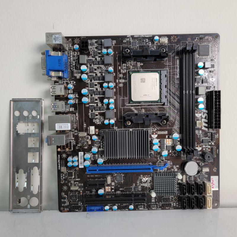 [ 已測試 ]🐻 760GMA-P34(P34) 主機板一張 搭FX6300 #760G👉可以加購記憶體 請洽聊聊
