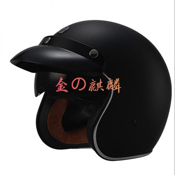 TORC機車男夏季半覆蓋式頭盔機車騎行復古半盔 機車 安全帽