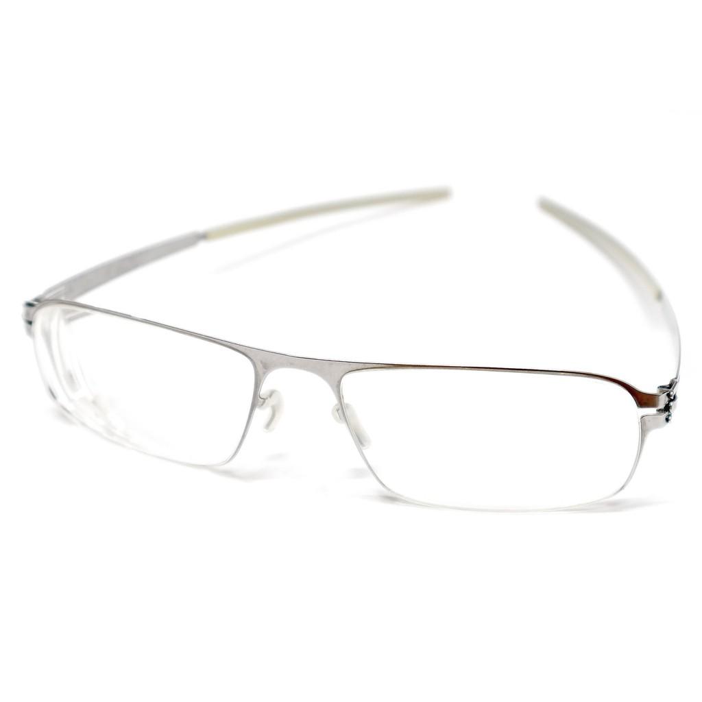 二手原廠正品 ic! berlin Model Akira s 德國製中性時尚輕薄無螺絲設計金屬框眼鏡框鏡架