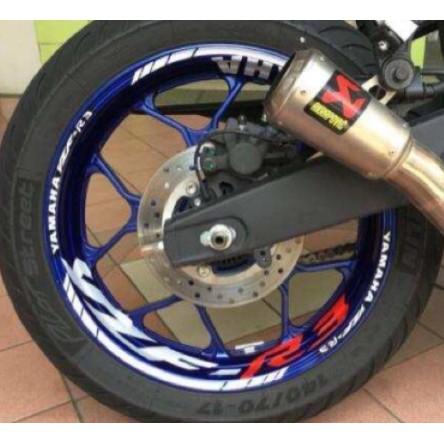 泰格貿易 YAMAHA R3 2015-2020 造型 輪框貼 輪框 造型貼