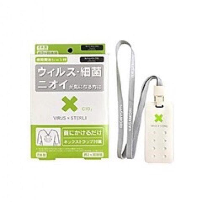 現貨🌟日本 Sterili隨身淨化除菌消毒卡