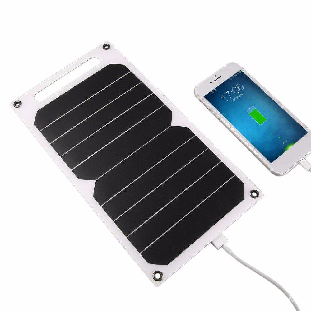 🔥古德🔥sunpower太陽能板戶外充電手機USB穩壓5V2A旅行單晶硅光伏 OHOr