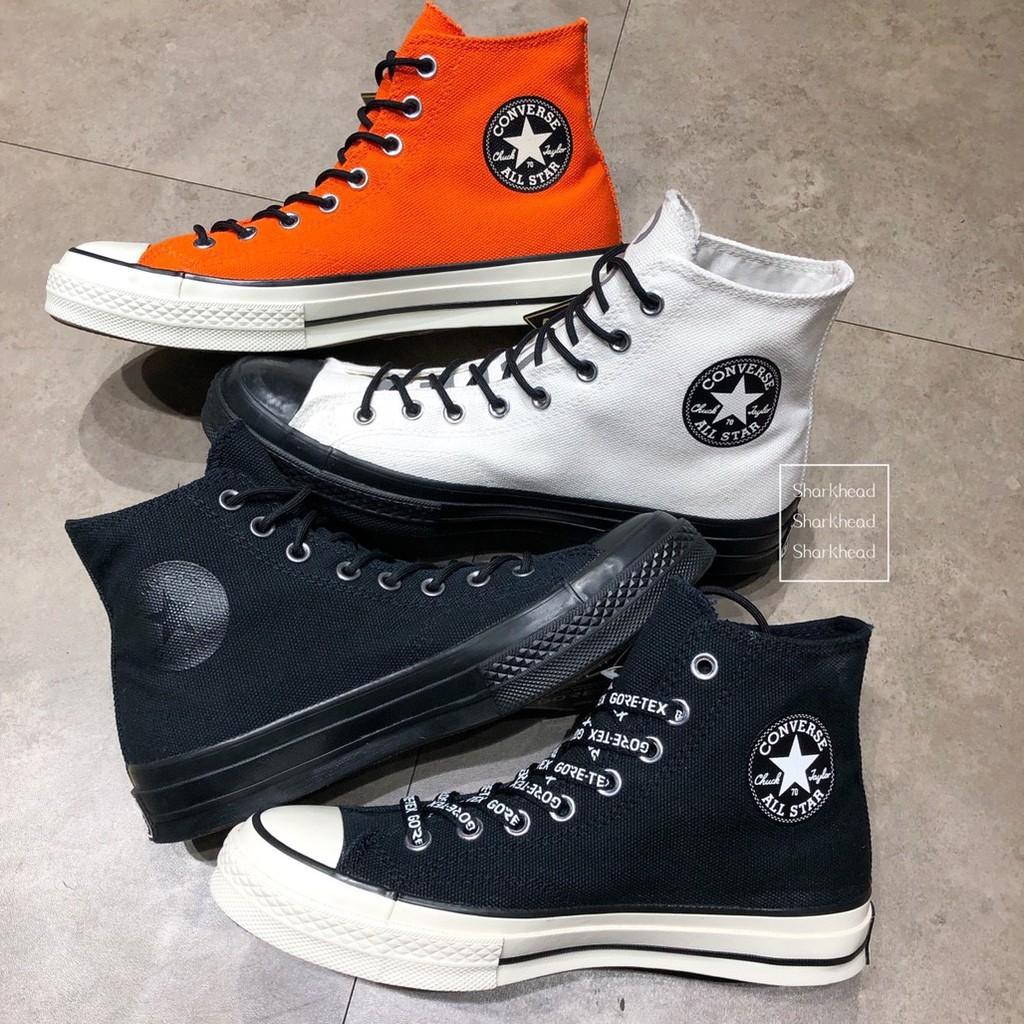 c1f920a17f4 CONVERSE Chuck Taylor MC18 GORE-TEX 白軍靴防水男女鞋162584C