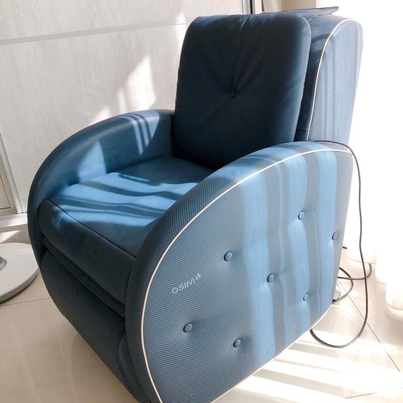 OSIM小天后按摩椅/沙發椅/沙發按摩椅 顏色:海軍藍