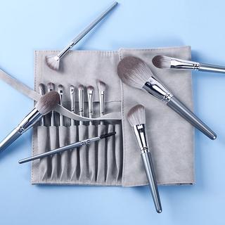 化妝刷收納包便攜可摺疊刷包可裝12支13支14支套刷防塵收納袋