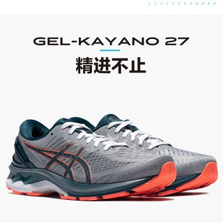 Hot Asics Gel-Kayano 27 K27 男士新款跑步鞋黑色戰士 Asics Gel Kayano Asi