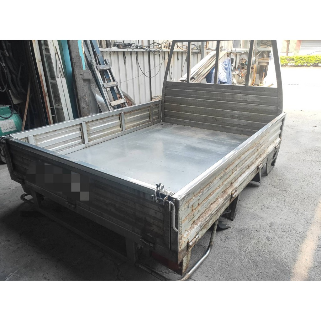 三菱小貨車FREECA福利卡厚的白鐵車斗貨車車斗不鏽鋼車斗